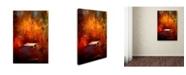 "Trademark Global Jai Johnson 'Crossing Into Autumn' Canvas Art - 19"" x 12"" x 2"""