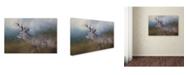 "Trademark Global Jai Johnson 'HitchHiker In The Snow Storm' Canvas Art - 19"" x 12"" x 2"""