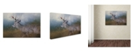 "Trademark Global Jai Johnson 'HitchHiker In The Snow Storm' Canvas Art - 24"" x 16"" x 2"""