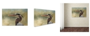 "Trademark Global Jai Johnson 'A Day At The Beach 3' Canvas Art - 19"" x 12"" x 2"""