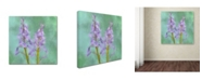 "Trademark Global Cora Niele 'Blue Bells' Canvas Art - 18"" x 18"" x 2"""