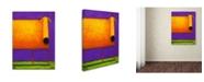 "Trademark Global Daniel Patrick Kessler 'Orange Dog I' Canvas Art - 47"" x 35"" x 2"""