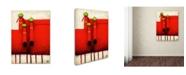 "Trademark Global Daniel Patrick Kessler 'Tres Amigos Art' Canvas Art - 19"" x 14"" x 2"""
