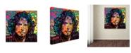"Trademark Global Dean Russo 'Chris Cornell' Canvas Art - 14"" x 14"" x 2"""