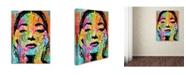 """Trademark Global Dean Russo 'Maria Callas' Canvas Art - 47"""" x 35"""" x 2"""""""