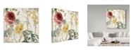 "Trademark Global Color Bakery 'Mirabelle I' Canvas Art - 18"" x 18"" x 2"""