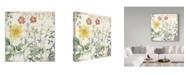 """Trademark Global Color Bakery 'Mirabelle III' Canvas Art - 24"""" x 24"""" x 2"""""""