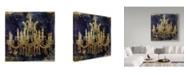 "Trademark Global Color Bakery 'Adagio' Canvas Art - 14"" x 14"" x 2"""