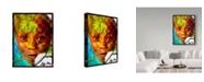 "Trademark Global Dana Brett Munach 'Sara' Canvas Art - 19"" x 14"" x 2"""