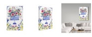 "Trademark Global Irina Trzaskos Studio 'Peonies Cake' Canvas Art - 24"" x 16"" x 2"""