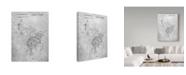 "Trademark Innovations Cole Borders 'Golfing' Canvas Art - 47"" x 35"" x 2"""