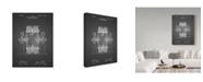 """Trademark Global Cole Borders 'Tesla Circuit' Canvas Art - 47"""" x 35"""" x 2"""""""
