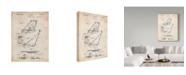 "Trademark Global Cole Borders 'Vintage 1930S Beach Chair Wall Art' Canvas Art - 19"" x 14"" x 2"""