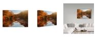 "Trademark Global Daniel Rericha 'Autumn Lake' Canvas Art - 32"" x 2"" x 22"""
