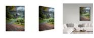 "Trademark Global David H Yang 'Farm Landscape' Canvas Art - 24"" x 2"" x 32"""