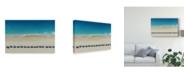 "Trademark Global Ina Dabi 'Under The Umbrella' Canvas Art - 19"" x 2"" x 12"""
