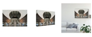 "Trademark Global Jacek Oleksinski 'Below The Concrete Surface' Canvas Art - 19"" x 2"" x 12"""