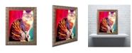 "Trademark Global DawgArt 'Guilley Cabil' Ornate Framed Art - 11"" x 14"" x 0.5"""