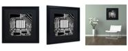 "Trademark Global Dave MacVicar 'Ceiling View' Matted Framed Art - 16"" x 16"" x 0.5"""