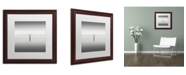 "Trademark Global Dave MacVicar 'Isolation' Matted Framed Art - 16"" x 16"" x 0.5"""