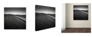 "Trademark Global Dave MacVicar 'Low' Canvas Art - 35"" x 35"" x 2"""