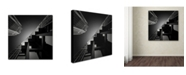 "Trademark Global Dave MacVicar 'Six Steps' Canvas Art - 14"" x 14"" x 2"""
