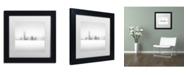 """Trademark Global Dave MacVicar 'Winter Fog' Matted Framed Art - 11"""" x 11"""" x 0.5"""""""