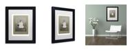 "Trademark Global J Hovenstine Studios 'Birds #1' Matted Framed Art - 11"" x 14"" x 0.5"""