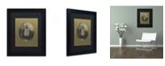 "Trademark Global J Hovenstine Studios 'Dog Series #3' Matted Framed Art - 11"" x 14"" x 0.5"""