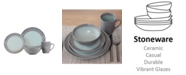 Baum Obi 16 Piece Dinnerware Set