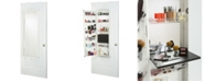 Mirrotek Over The Door Wall Mounted Cosmetic Storage Armoire with Mirror