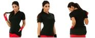 Instaslim InstantFigure Short Sleeve Zip-Up Cycling Jacket with Back Pockets