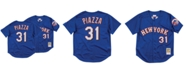 Mitchell & Ness Men's Mike Piazza New York Mets Authentic Mesh Batting Practice V-Neck Jersey
