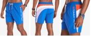 "Tommy Hilfiger Men's Austin Quick-Dry Colorblocked 6-1/2"" Swim Trunks"
