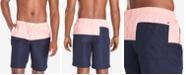"Tommy Hilfiger Men's 9"" Brooklyn Regular-Fit Colorblocked Hybrid Shorts"