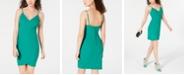 B Darlin Juniors' Cutaway Bodycon Dress, Created for Macy's