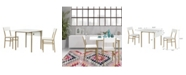 CosmoLiving by Cosmopolitan Mercer Dining Table & Chair Set