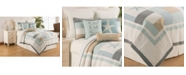 C&F Home Driftwood Shores King Quilt Set