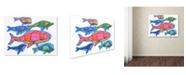 "Trademark Global Ric Stultz 'Odd Pod' Canvas Art - 19"" x 14"" x 2"""