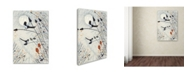 """Trademark Global Michelle Campbell 'Two For Joy' Canvas Art - 19"""" x 12"""" x 2"""""""