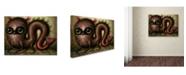 "Trademark Global Jason Limon 'Wriggle' Canvas Art - 32"" x 24"" x 2"""