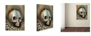 "Trademark Global Jason Limon 'Sun Blossom' Canvas Art - 32"" x 24"" x 2"""