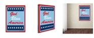 "Trademark Global Tammy Kushnir 'God Bless America' Canvas Art - 32"" x 24"" x 2"""