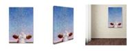 "Trademark Global James W. Johnson 'Celebration' Canvas Art - 19"" x 12"" x 2"""
