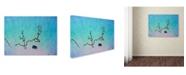 "Trademark Global James W. Johnson 'Falling in Love' Canvas Art - 24"" x 18"" x 2"""