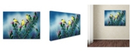 "Trademark Global Wanda Mumm 'American Goldfinch And Thistle' Canvas Art - 47"" x 35"" x 2"""