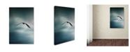 "Trademark Global Jai Johnson 'Through The Rolling Storm Bald Eagle' Canvas Art - 24"" x 16"" x 2"""
