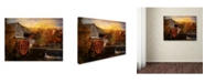 "Trademark Global Jai Johnson 'The Old Mill' Canvas Art - 24"" x 18"" x 2"""