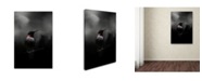 "Trademark Global Jai Johnson 'Waiting In The Darkness' Canvas Art - 32"" x 22"" x 2"""