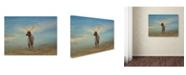 "Trademark Global Jai Johnson 'Taking  In The View' Canvas Art - 24"" x 18"" x 2"""